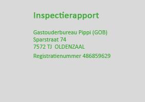 Het meest recente inspectie-rapport van de GGD